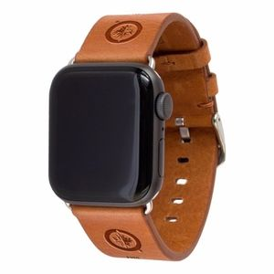 Winnipeg Jets Apple Compatible Leather Watchband